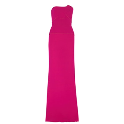 Calcott Wool-Crepe Gown
