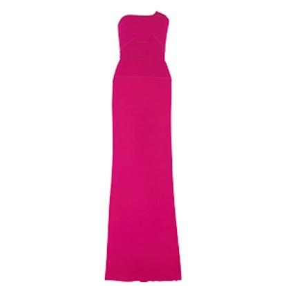 Calcott Wool-Crepe Gown