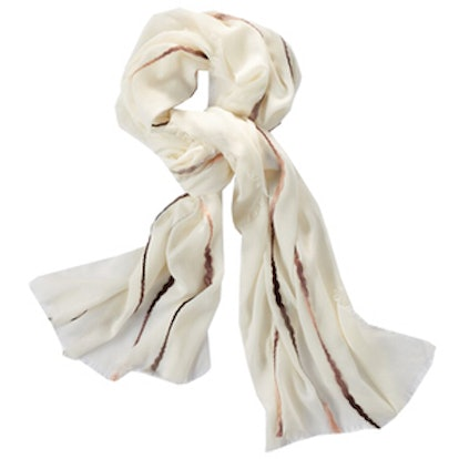 Ombre Twisted Stripes Scarf