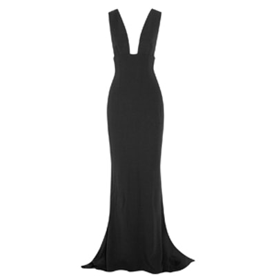 Kimberly Stretch-Cady Gown
