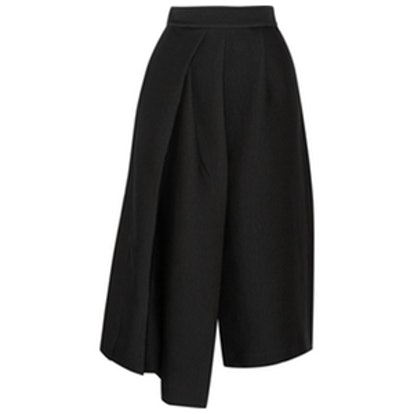 Pleated Jacquard Culottes