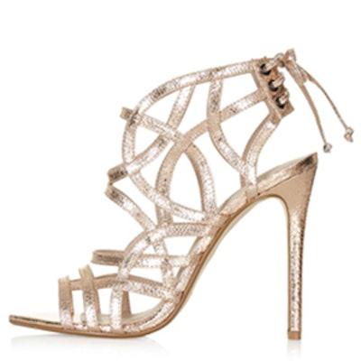 Resort Metallic Sandals