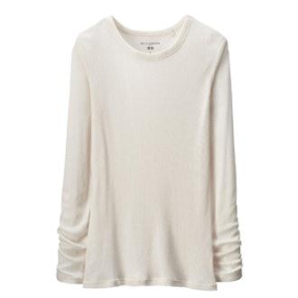 Long Sleeve Rib T-Shirt