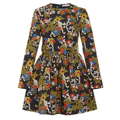 Eris Long Sleeved Flower Dress