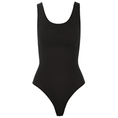 Stretch Cotton-Blend Bodysuit
