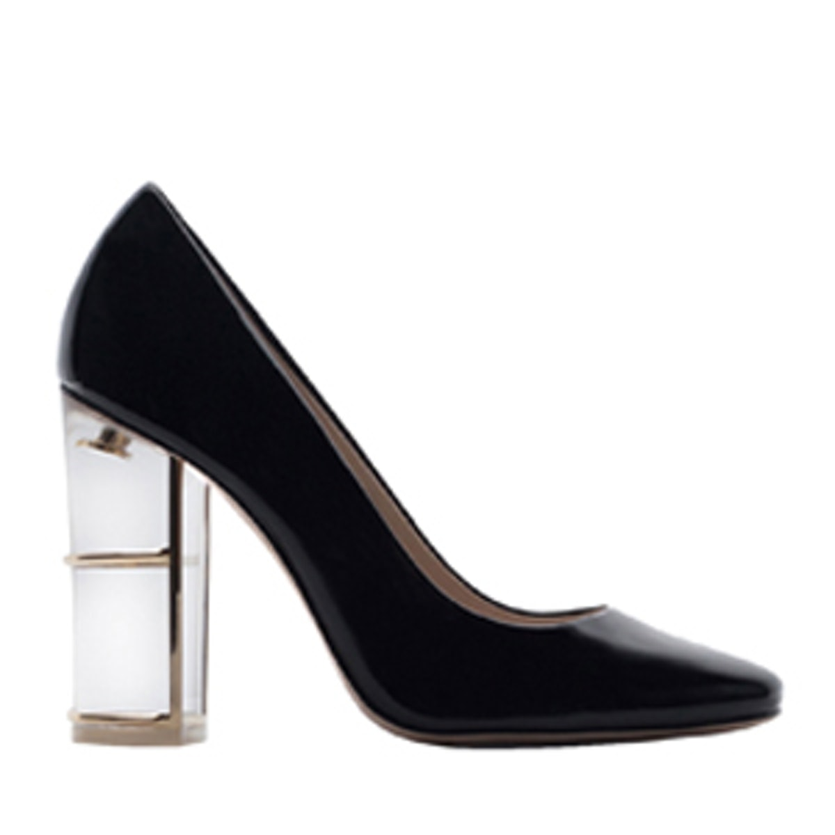 Court Shoes With Heel Detail