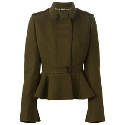 Peplum Military Jacket