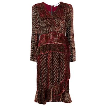 Lurex Velvet Dress