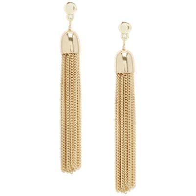 Chain Tassle Earrings