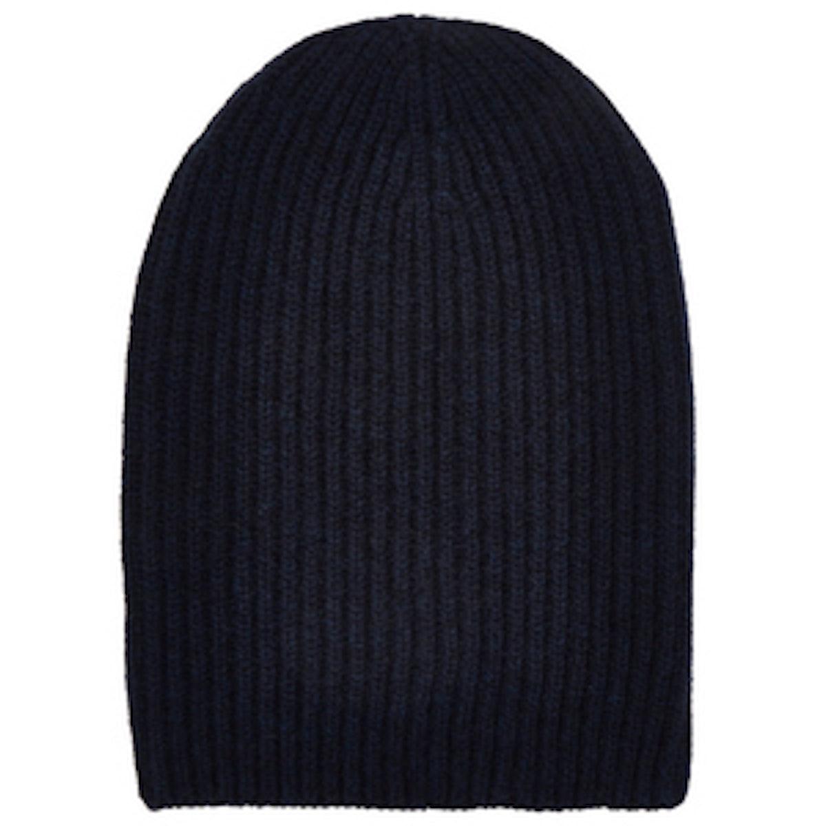 English Rib-Knit Beanie