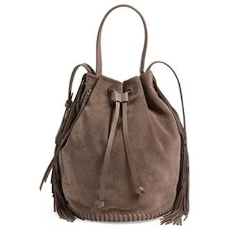 Club Fringe Bucket Bag