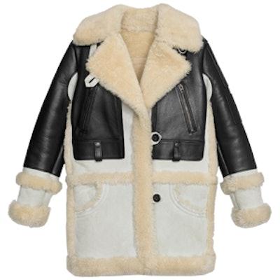 Biker Sheepskin Coat