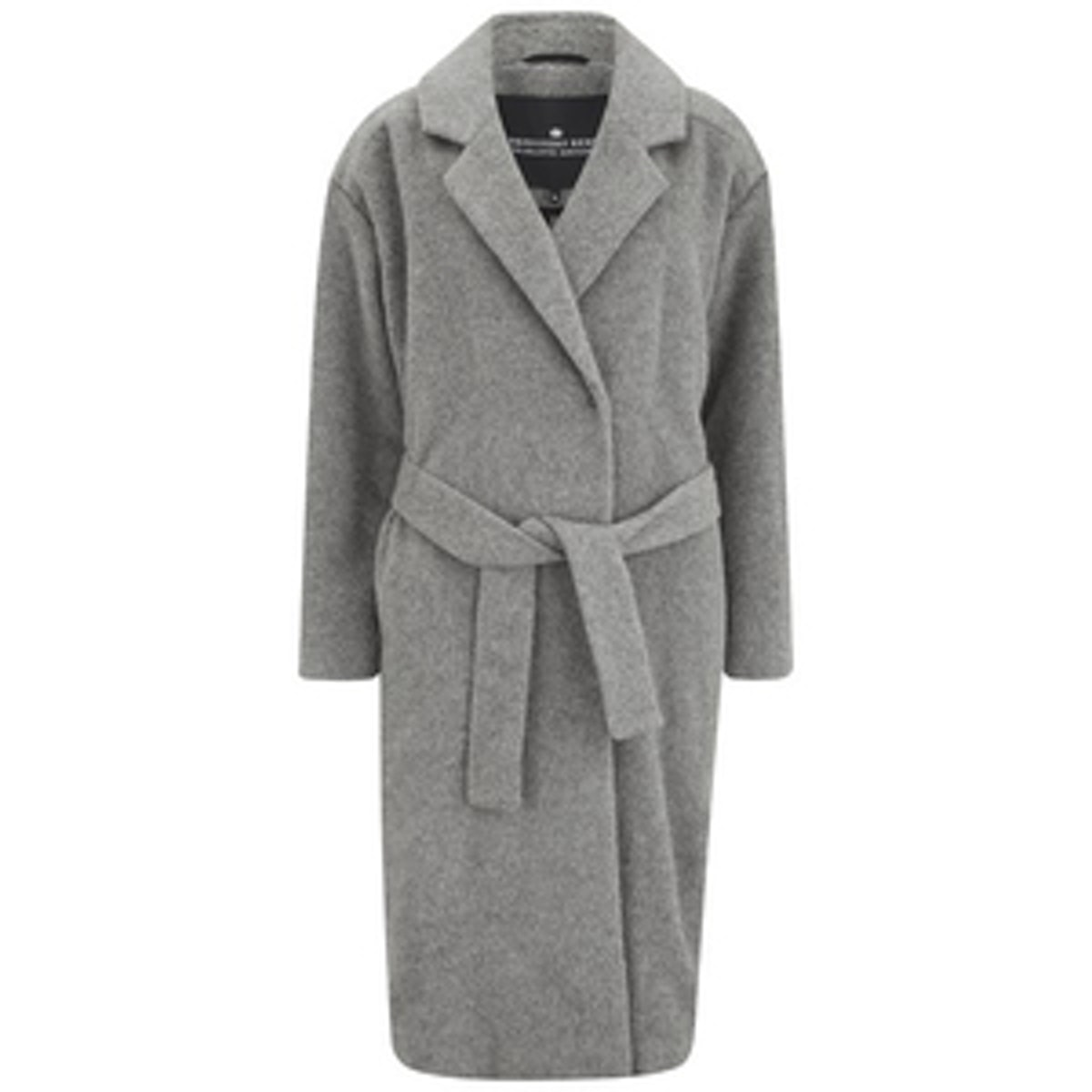 Panda Long Wool Coat