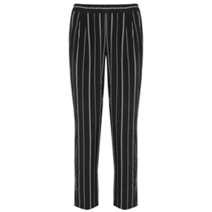 Hadley Striped Silk Pants