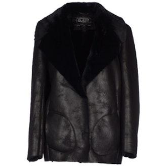 Faux Fur Lined Coat