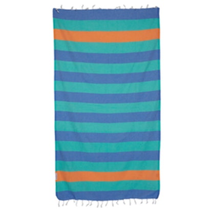 Striped Woven Towels- Set of Two