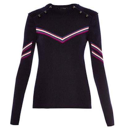 Alison Striped Wool Sweater