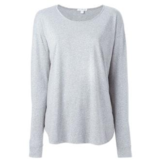 Long Sleeve Cuffed T Shirt