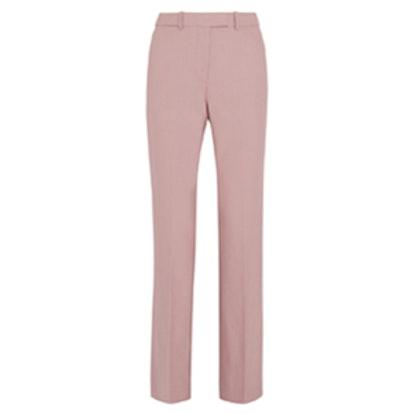 Preston Stretch Wool-Blend Flared Pants