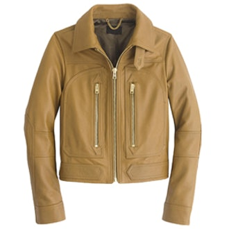 Collection Leather Flight Jacket