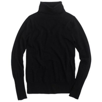 Classic Wool Turtleneck Sweater