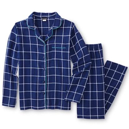 Flannel Pajama Shirt & Pants