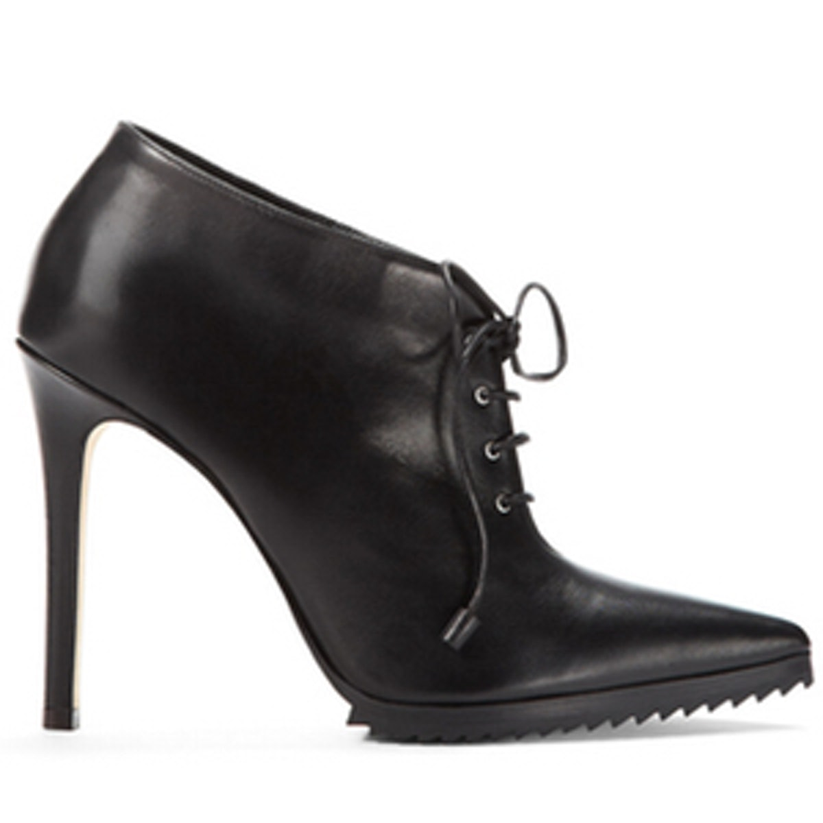 Wooster Lace-Up Leather Booties