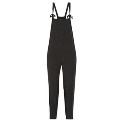 Cropped Voile Overalls