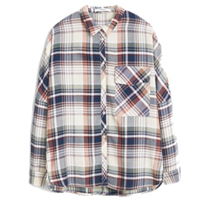 Chest-Pocket Check Shirt