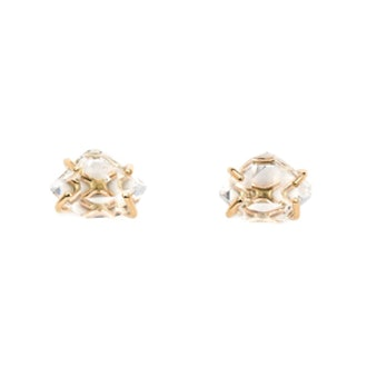 Herkimer Diamond Post Earrings