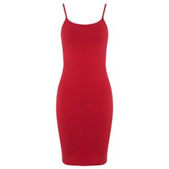 Strappy Body Con Dress