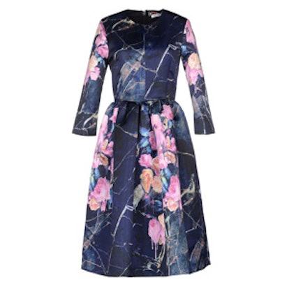 Mixed Floral Dress