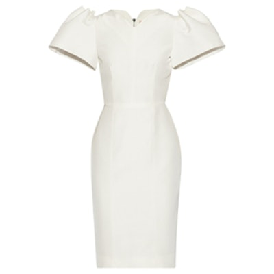 Lynton Silk-Dupioni Dress