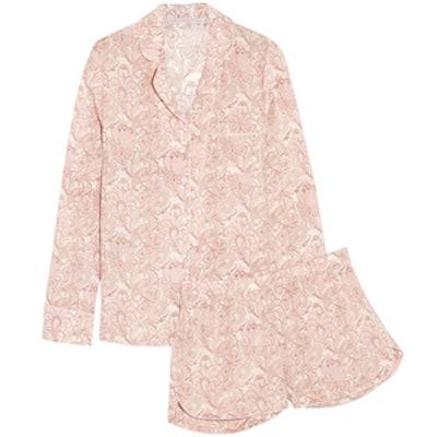 Poppy Snoozing Pajama Set