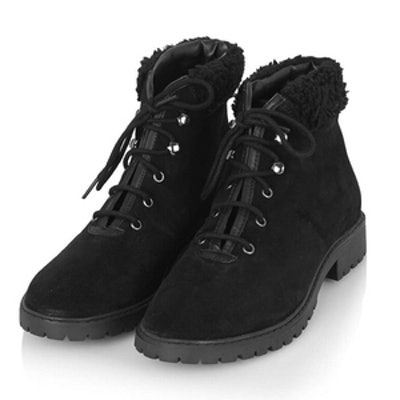 Birdy Lace-Up Boots