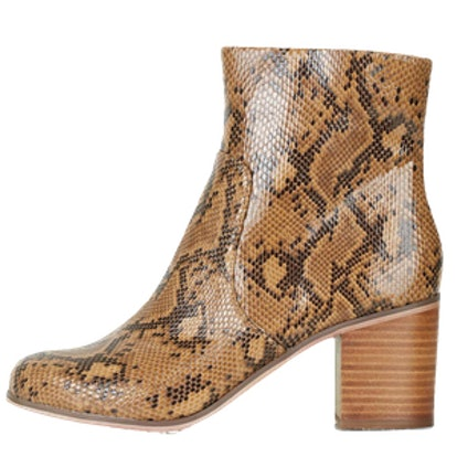 Bless Snake Ankle Boots