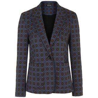 Premium Jacquard Suit Blazer