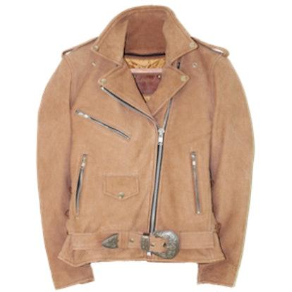 Western Dusty Leather Jacket