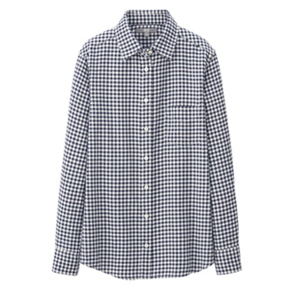 Flannel Check Long Sleeve Shirt