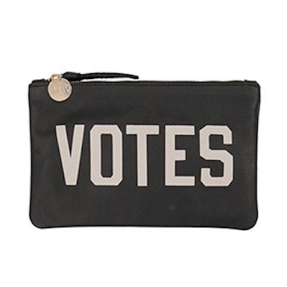 Votes Wallet Clutch