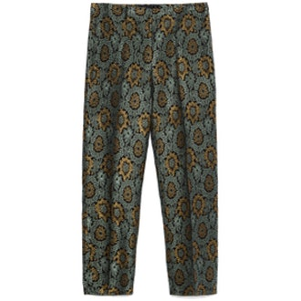 Jacquard Cropped Trouser