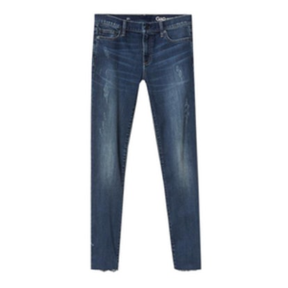 1969 Destructed Authentic True Skinny Jeans