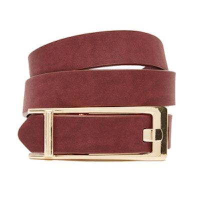 Rectangle Button Belt