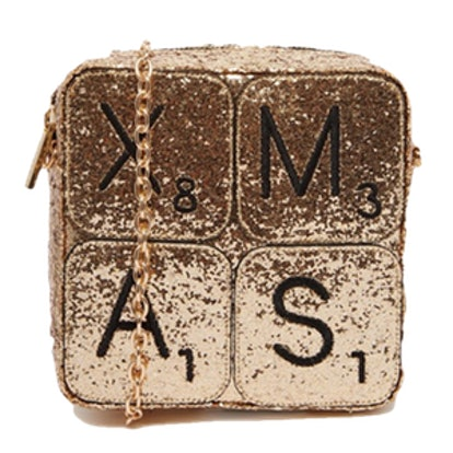 X-Mas Glitter Cross Body Bag