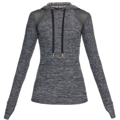 Lightweight Marl Hooded Sweatshirt
