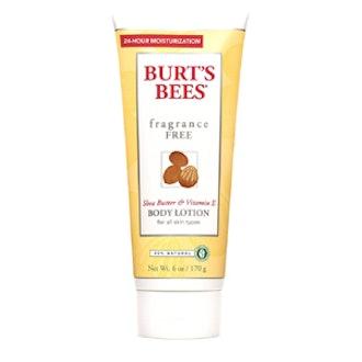 Shea Butter & Vitamin E Fragrance Free Body Lotion