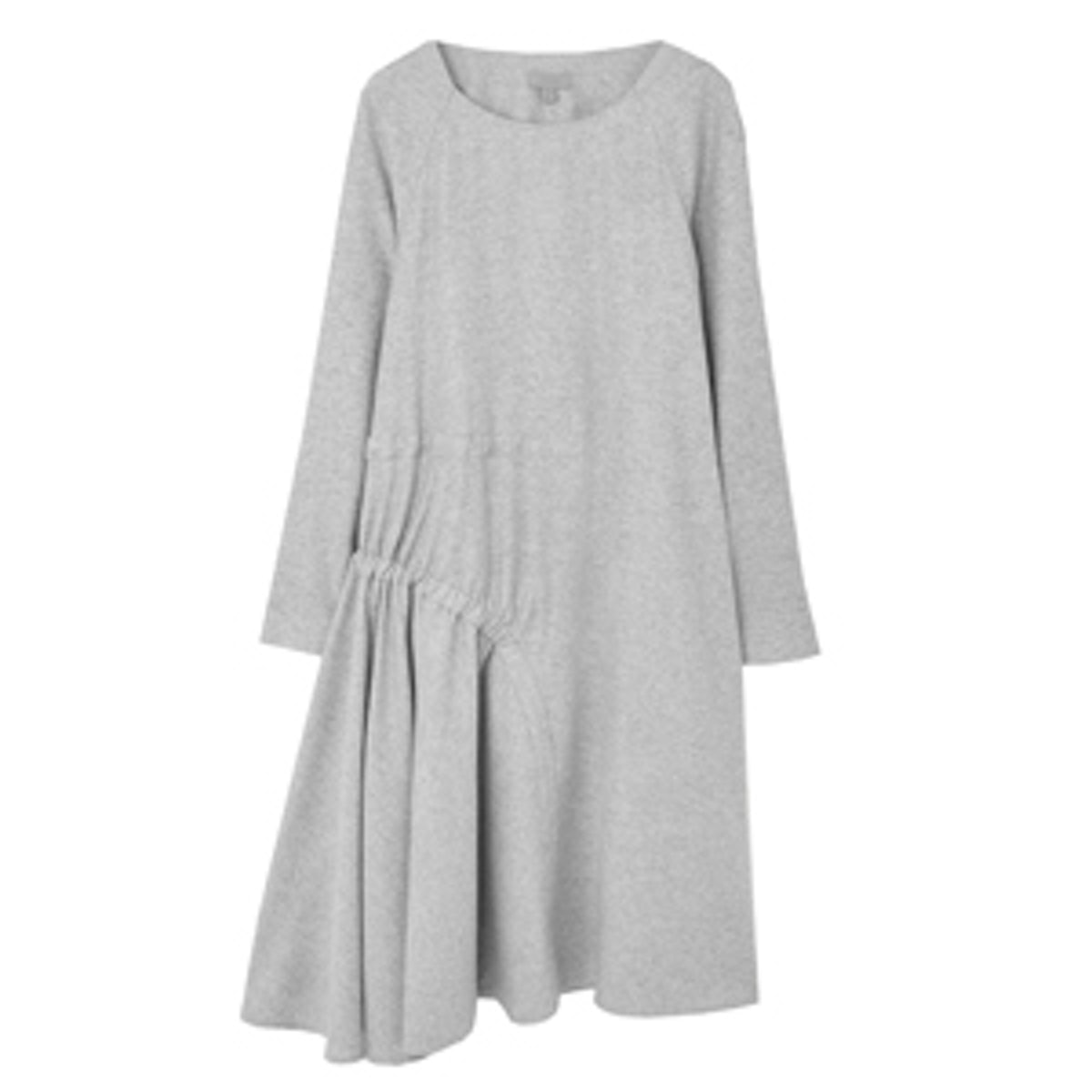Dress with Gathered Side