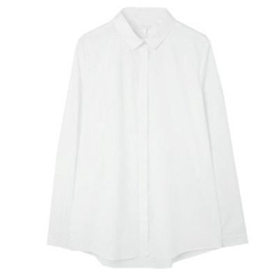 Straight Fit Cotton Shirt