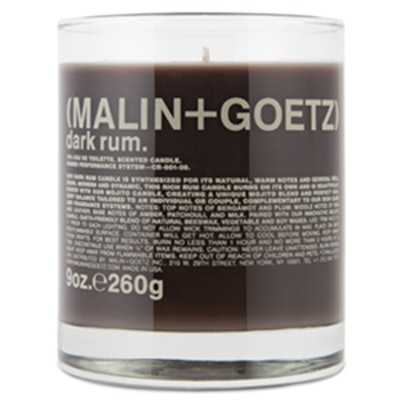 Dark Rum Scented Candle