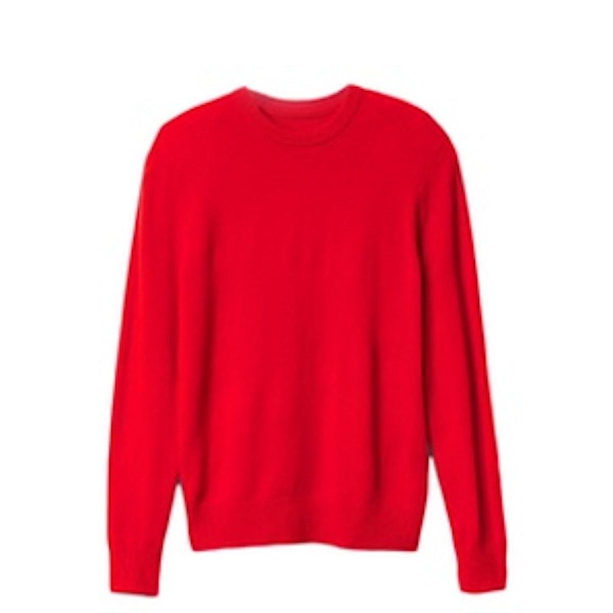 Lambswool Crew Sweater